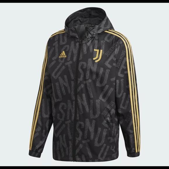 Adidas Juventus Full Zip Windbreaker Jacket